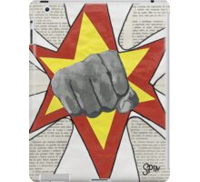 Super Awesome Fist Bumping! iPad Case/Skin