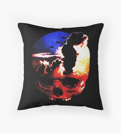 in my mind there's no sorrow Throw Pillow