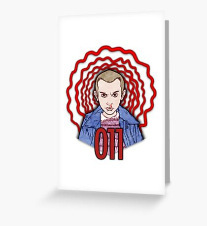 ZEROONEONE Greeting Card