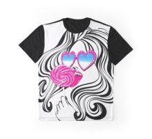 Glamour Pop Graphic T-Shirt