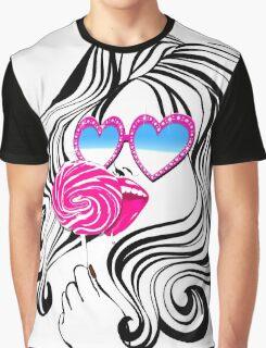 Glamour Pop Graphic T-Shirt