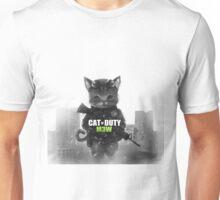 Cat of Duty M3w Unisex T-Shirt