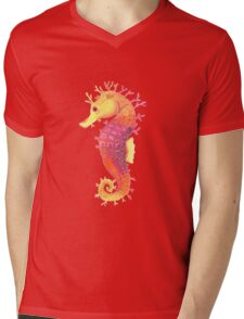 Vivid Mens V-Neck T-Shirt