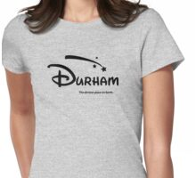 The dirtiest place on Earth. Womens Fitted T-Shirt