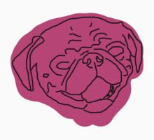 Pinky Pug Kids Tee