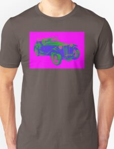 Mg Tc Antique Car Pop Image T-Shirt