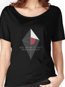 No Man's Sky Infinite Gaming Design Women's Relaxed Fit T-Shirt