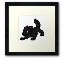 Worgen Cuties - Death Knight Framed Print