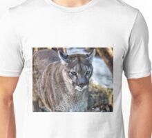 A Stunning Mountain Lion Unisex T-Shirt