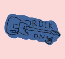 ROCK ON Baby Tee