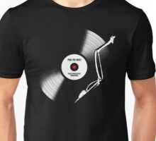 post-apocalyptic birdsongs in 33 rpm Unisex T-Shirt