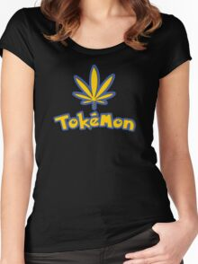 Tokemon - gotta smoke em all Women's Fitted Scoop T-Shirt