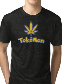 Tokemon - gotta smoke em all Tri-blend T-Shirt