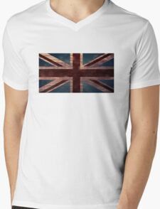 Union Jack I Mens V-Neck T-Shirt