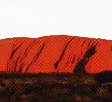 I climbed Uluru!! Sticker