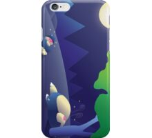 Pokemon Sleep Time - Munchlax and Snorlax iPhone Case/Skin