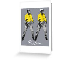 pop fiction y Greeting Card