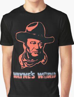 John Wayne's World Colour Graphic T-Shirt
