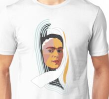 Abstract Frida Kahlo Unisex T-Shirt