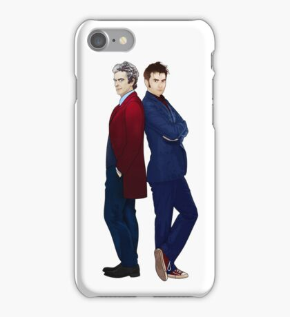 Doctor Who - Doctor 10 & Doctor 12 iPhone Case/Skin