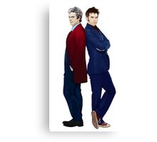 Doctor Who - Doctor 10 & Doctor 12 Canvas Print