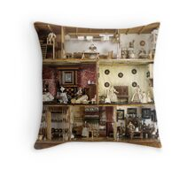 Dolls house of Petronella Dunois, 1676  Throw Pillow