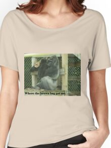 Where the brown bag got me. Women's Relaxed Fit T-Shirt