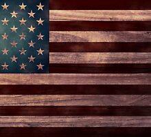 American Flag I by April  Moen