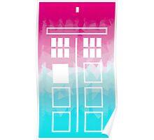 Tiedie TARDIS Poster