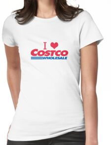 I love Costco Womens Fitted T-Shirt