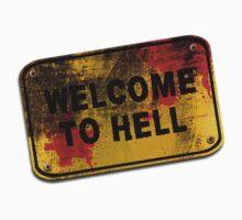 Welcome to Hell Kids Tee