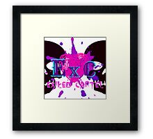 Exiled Cartel Logo - Female Version Framed Print