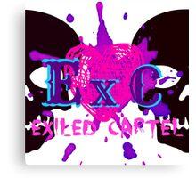 Exiled Cartel Logo - Female Version Canvas Print