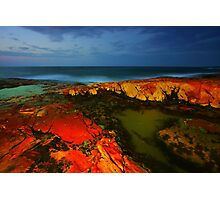 South West Rocks at Night Photographic Print