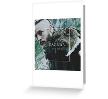 the king ragnar Greeting Card