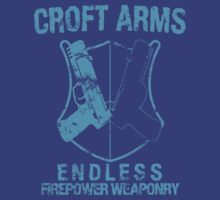 Croft Arms - Light Blue by JohnLucke