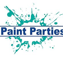 iPaint Parties Logo New by EJTees