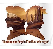 The man who regrets/forgets galifray Poster