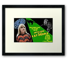 Doctor Who: Invasion of the Cat People Framed Print