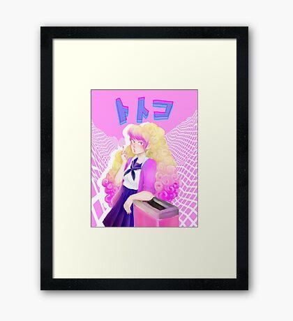 Yankee Totoko Framed Print