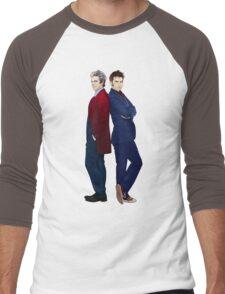 Doctor Who - Doctor 10 & Doctor 12 Men's Baseball ¾ T-Shirt