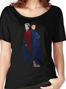 Doctor Who - Doctor 10 & Doctor 12 Women's Relaxed Fit T-Shirt