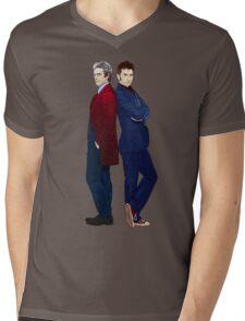Doctor Who - Doctor 10 & Doctor 12 Mens V-Neck T-Shirt