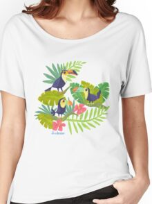 Toucan Paradise Women's Relaxed Fit T-Shirt