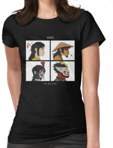 SMITE - DEMON DAYS Womens Fitted T-Shirt