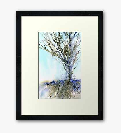 Reaching for the Sky (Original painting sold) Framed Print
