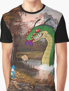 Mountain Stream Graphic T-Shirt