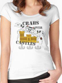EOD Crabs over Castles Women's Fitted Scoop T-Shirt