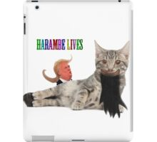 osama cat herambe  iPad Case/Skin
