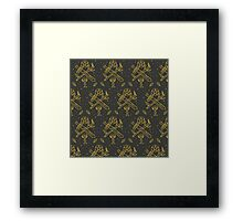 tarot suits Framed Print